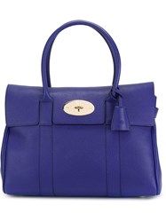 Mulberry 'Bayswater' Bag Blue