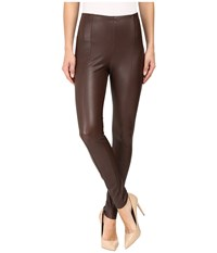 Lysse High Waist Vegan Leggings Bourbon Women's Casual Pants Brown