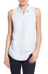 Women's Thread And Supply 'Dixie' Chambray Sleeveless Shirt