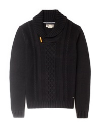 Solid Toggle Knit Jumper
