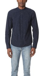 Scotch And Soda Long Sleeve Crispy Cotton Shirt Night