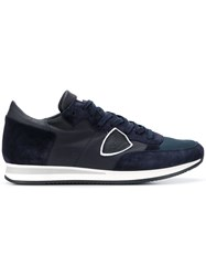 Philippe Model Tropez Veau Sneakers Blue