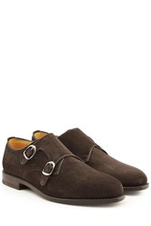Ludwig Reiter Suede Monk Shoes