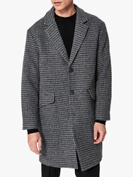 Selected Homme Wool Coat Light Grey Melange