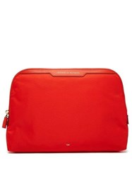 Anya Hindmarch Lotions And Potions Wash Bag Red