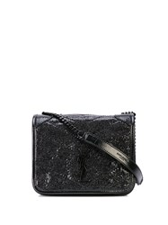 Saint Laurent Niki Chain Wallet Black