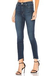 Joe's Jeans The Charlie High Rise Ankle Skinny Dark Blue