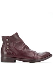 Officine Creative Lexicon Boots Red