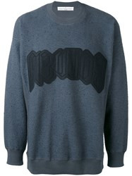 Golden Goose Deluxe Brand Felted Sweatshirt Men Cotton L