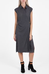 Alexander Wang Wrap Tie Dress Grey