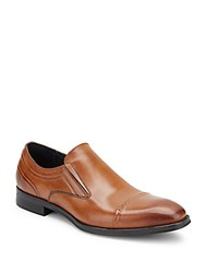 Kenneth Cole Reaction Change Tune Leather Loafers Black