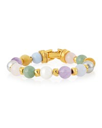 Pastel Bead Bracelet Jose And Maria Barrera Multi Colors