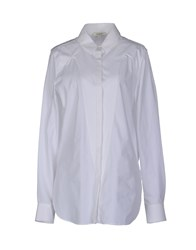 Thierry Mugler Mugler Shirts Long Sleeve Shirts Women White