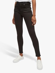 French Connection Mid Rise Skinny Rebound Jeans Black