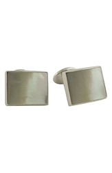 David Donahue Sterling Silver Cuff Links Mother Of Pearl