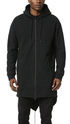 Alexander Wang French Terry Hooded Parka Matrix