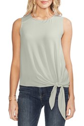 Vince Camuto Sleeveless Tie Front Blouse Morning De
