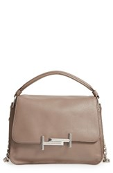 Tod's Small Double T Leather Messenger Bag