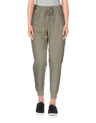 Black Orchid Trousers Casual Trousers Women Military Green