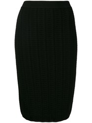 Theory Knitted Skirt Black