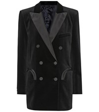 Blaze Milano Everyday Velvet Blazer Black