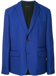 Haider Ackermann Single Breasted Blazer Blue