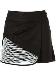 Giuliana Romanno Textured Skirt Black
