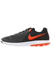 Nike Performance Flex Experience Run 5 Lightweight Running Shoes Anthracite Total Crimson Black White