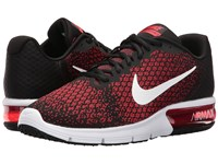 Nike Air Max Sequent 2 Black White Team Red University Red Men's Running Shoes