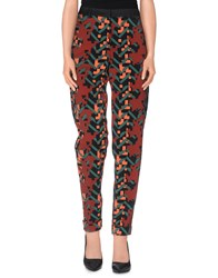 M Missoni Trousers Casual Trousers Women Brick Red