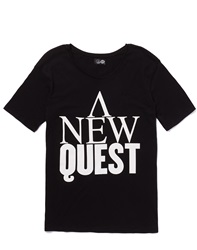 Cheap Monday T Shirt With New Quest Print
