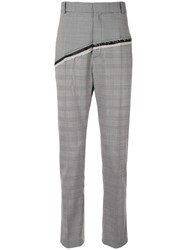 Cmmn Swdn D'angelo Checked Straight Leg Trousers 60