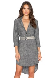 Shades Of Grey Oversized Shirtdress Charcoal