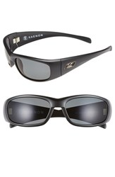 Men's Kaenon 'Rhino' 63Mm Polarized Sunglasses Matte Black Grey G12