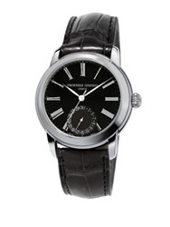 Frederique Constant Classics Manufacture Automatic Self Wind 5Atm Stainless Steel Watch Black