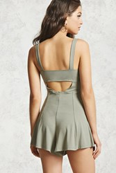 Forever 21 Back Cutout Romper
