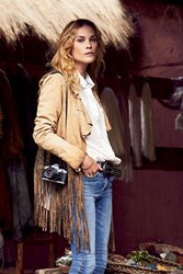 Free People Womens Np Glam Rock Suede Jacket
