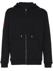 Alyx One Race Zip Up Hoodie Black