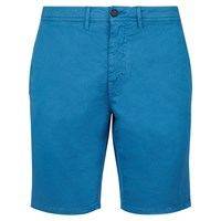 Aquascutum London Rushden Garment Dyed Shorts Azzuro