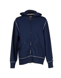 Todd Snyder Topwear Sweatshirts Men Dark Blue