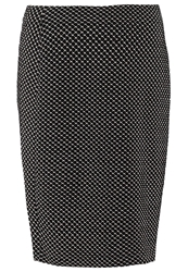 Betty Barclay Pencil Skirt Black Cream