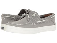 Sperry Crest Resort Heavy Linen Grey Women's Lace Up Casual Shoes Gray