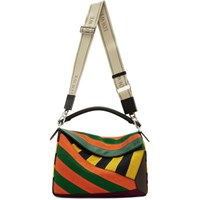 Loewe Multicolor Large Puzzle Rugby Bag