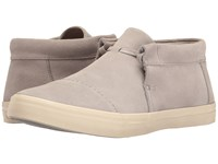 Toms Emerson Mid Sneaker Drizzle Grey Suede Men's Shoes Gray