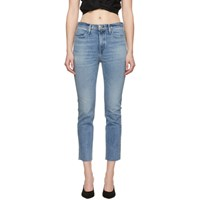 Rag And Bone Blue Ankle Cigarette Jeans