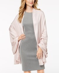 Inc International Concepts I.N.C. Solid Oversized Soft Wrap Created For Macy's Rose Gold