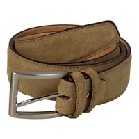 40 Colori Beige Trento Leather Belt Brown