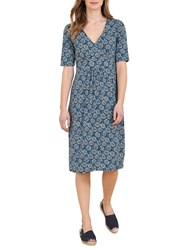 Seasalt Kickwheel Dress Agapanthus Marine