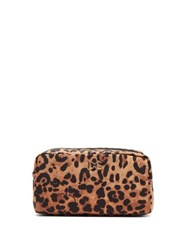 Dolce And Gabbana Leopard Print Cosmetic Case Leopard