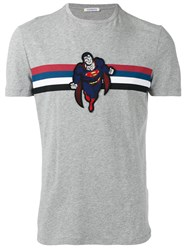 Iceberg Superman T Shirt Grey